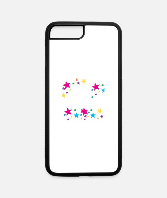Wealth iPhone Cases - AM HAPPYY - iPhone 7 & 8 Plus Case white/black