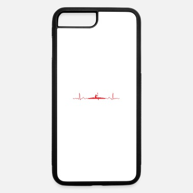 New Year Heartbeat Kayaking Kayak lover Funny Gift Idea - iPhone 7 & 8 Plus Case