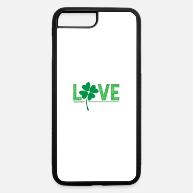 Couple Love Lucky Clover Shamrock Gift Idea - iPhone 7 & 8 Plus Case
