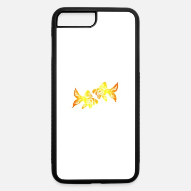 Funny Two Goldfish Tribal Tattoo Funny Gift Idea - iPhone 7 & 8 Plus Case