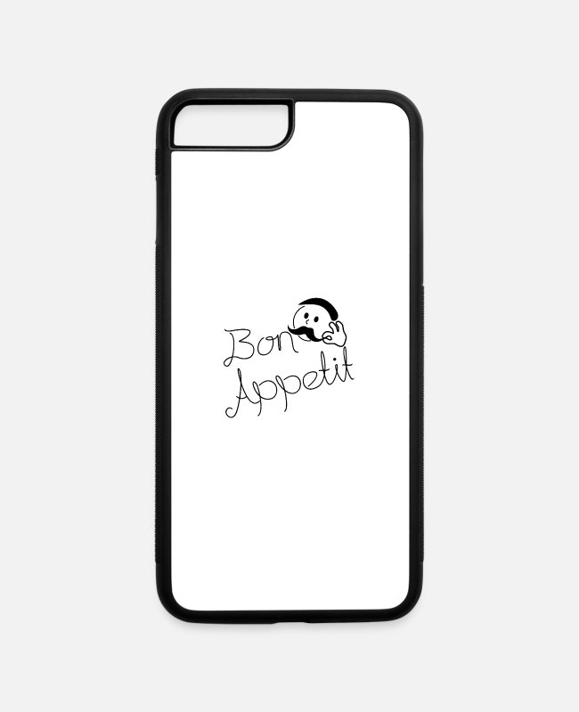 Bon Appetit iPhone Cases - Bon Appetit - iPhone 7 & 8 Plus Case white/black