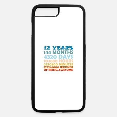Birthday 12 Years Old 12th Birthday Gift - iPhone 7 & 8 Plus Case