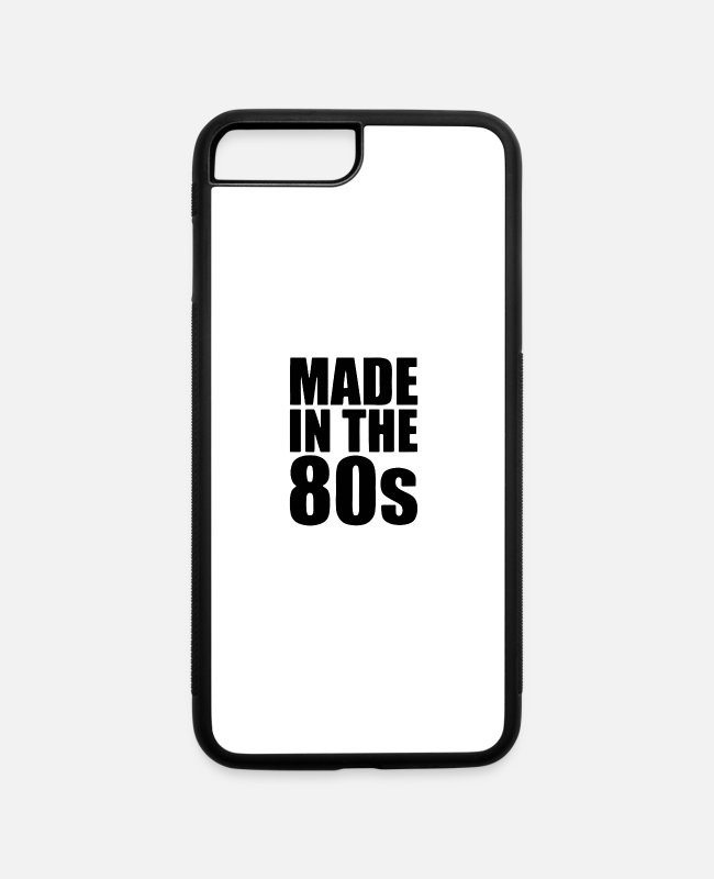 Nightlife iPhone Cases - made in the - iPhone 7 & 8 Plus Case white/black