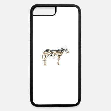 South Africa Double Exposure Animals Zebra Gift Idea - iPhone 7 & 8 Plus Case