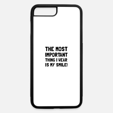 Positive Messages Wear Smile Positive Message - iPhone 7 & 8 Plus Case