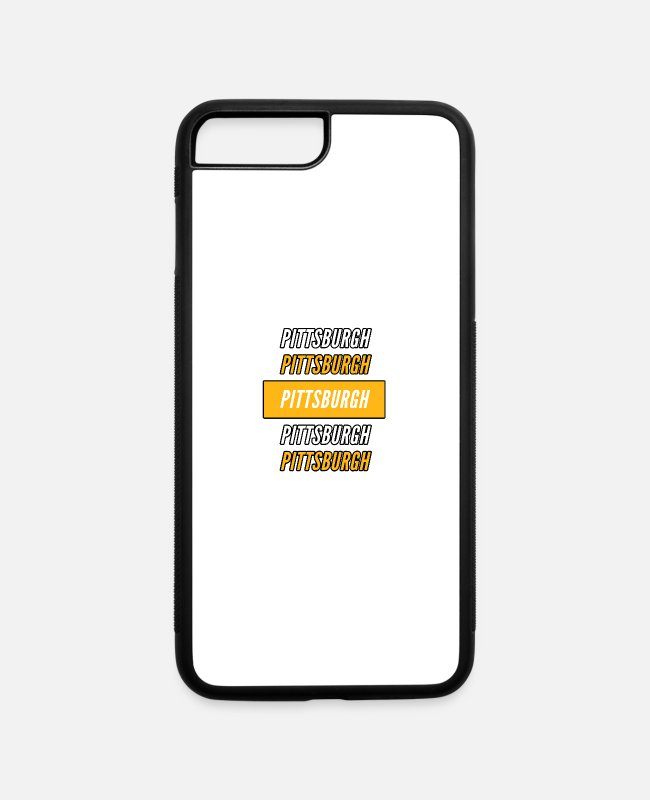 Fan iPhone Cases - Pittsburgh Pride - iPhone 7 & 8 Plus Case white/black