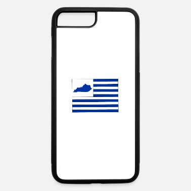 Map Kentucky State Map Flag - iPhone 7 & 8 Plus Case