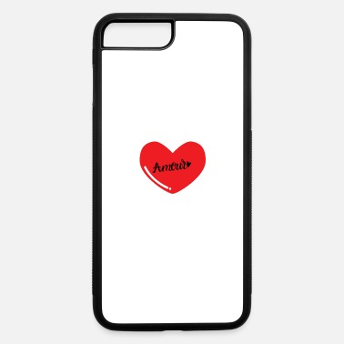 Amour Amour heart - iPhone 7 & 8 Plus Case