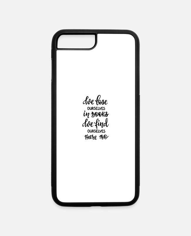 Learning iPhone Cases - lose - iPhone 7 & 8 Plus Case white/black