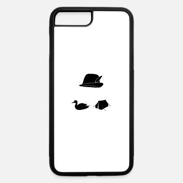 Shooting hat duck tent - iPhone 7 & 8 Plus Case
