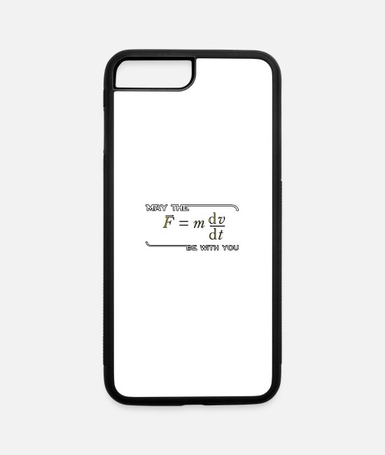 Weather iPhone Cases - Fun t shirt - iPhone 7 & 8 Plus Case white/black