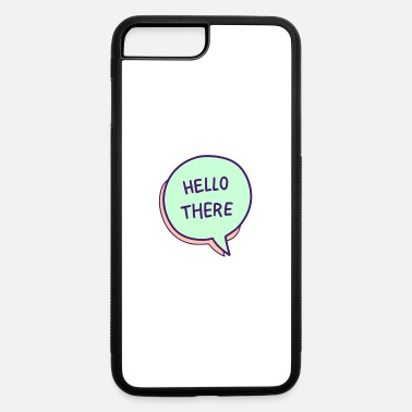 Thought Bubble Speech Balloons Design - iPhone 7 & 8 Plus Case