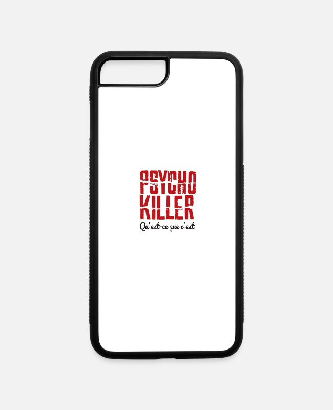 Killer Whale iPhone Cases - Psycho killer - iPhone 7 & 8 Plus Case white/black
