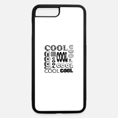 Schwarz Cool Schwarz - iPhone 7 Plus/8 Plus Rubber Case