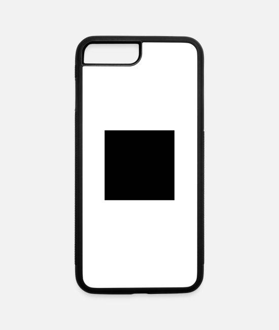 MP3 iPhone Cases - Stop - iPhone 7 & 8 Plus Case white/black
