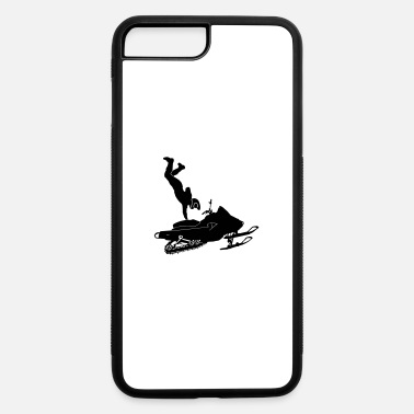 Stunt Snowmobil Stunts - iPhone 7 Plus/8 Plus Rubber Case