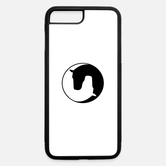 Logo iPhone Cases - horse - iPhone 7 & 8 Plus Case white/black