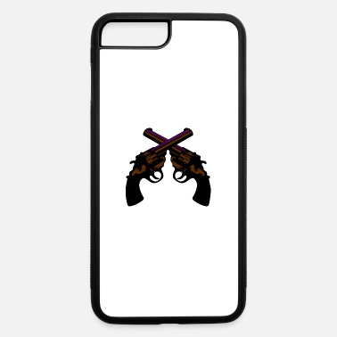 Cartoon pistol - iPhone 7 & 8 Plus Case