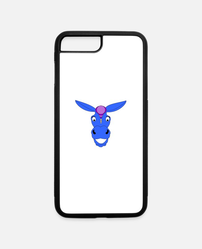 Wild iPhone Cases - donkey - iPhone 7 & 8 Plus Case white/black