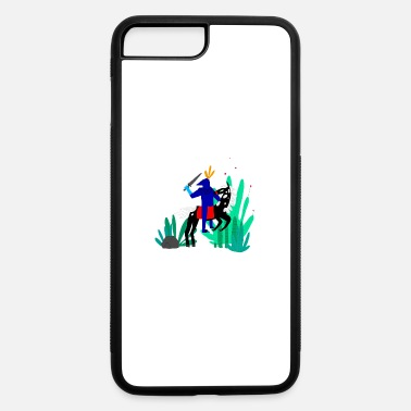 Illustrator illustration - iPhone 7 & 8 Plus Case