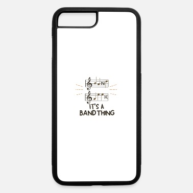 Band Band Geek - It's A Band Thing - iPhone 7 Plus/8 Plus Rubber Case