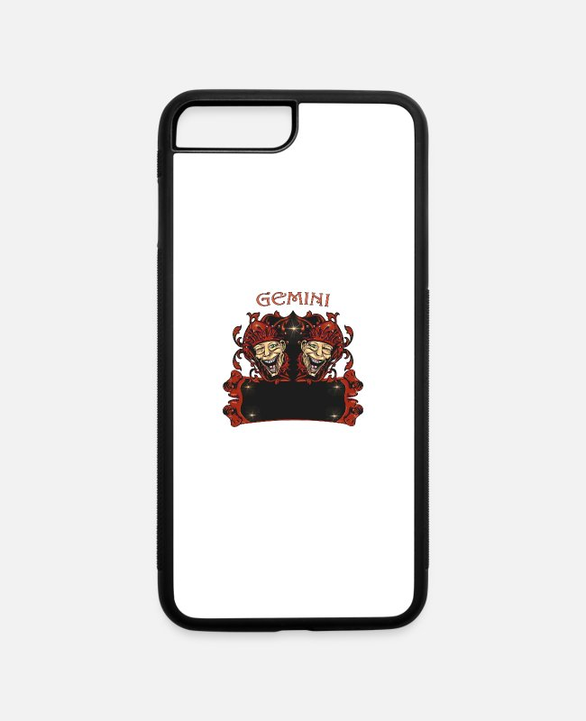 Write iPhone Cases - Gemini | Add Text | Examples in Designdescription - iPhone 7 & 8 Plus Case white/black