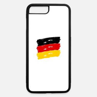 Federal Republic Of Germany Fahne Deutschland handpainted - iPhone 7 & 8 Plus Case