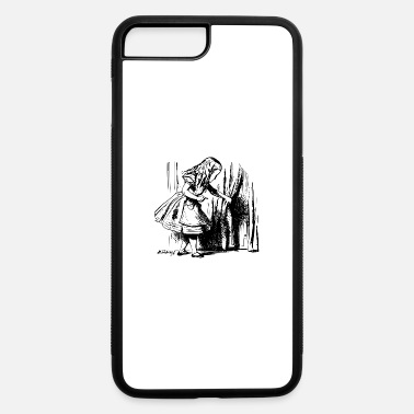 Wonderland alice illustration printed art alice in wonderland - iPhone 7 & 8 Plus Case
