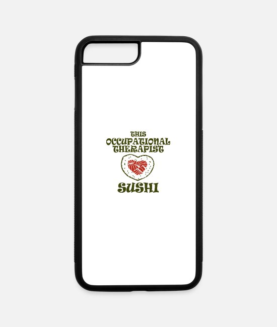 Therapy iPhone Cases - occupational therapist - iPhone 7 & 8 Plus Case white/black