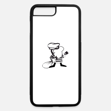 Robber robber painter - iPhone 7 & 8 Plus Case