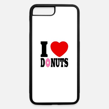 I Heart i love donuts, i heart - iPhone 7 Plus/8 Plus Rubber Case