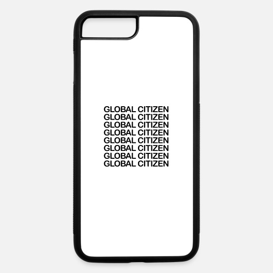 Cooper iPhone Cases - Global Citizen - black - iPhone 7 & 8 Plus Case white/black