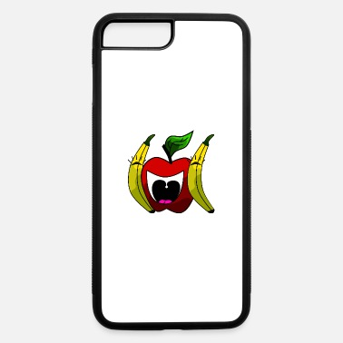 Funny LOL apple and banana fruit design - iPhone 7 & 8 Plus Case