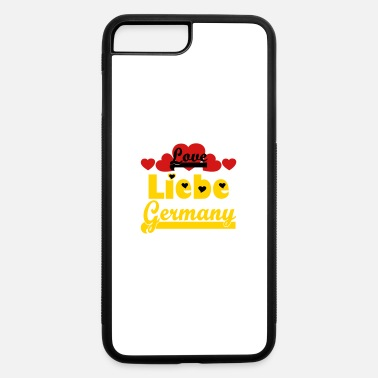 European Champion ❤️⚽✦Liebe Germany-I Love Germany-Best Country - iPhone 7 & 8 Plus Case