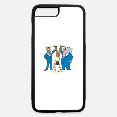 Democrats Suck Politics Suck - iPhone 7 & 8 Plus Case