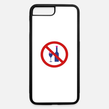 ✔๏̯͡๏ No Alcohol-Ban Drinking-Prohibition๏̯͡๏✔ - iPhone 7 & 8 Plus Case