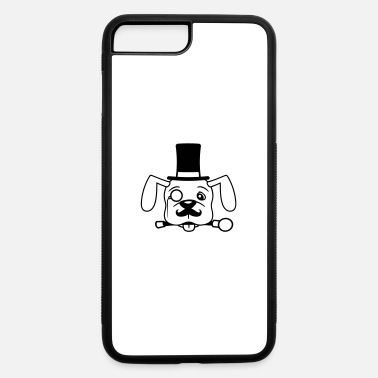 Cylin face head sir mr gentlemen mustache mustache cylin - iPhone 7 & 8 Plus Case