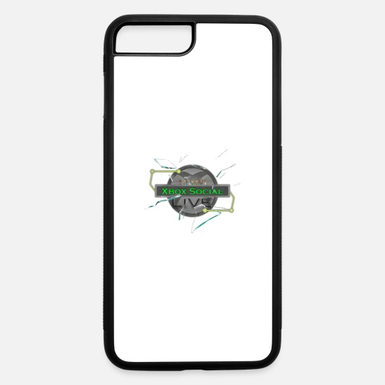 Podcast iPhone Cases - XBoxSocialLive - iPhone 7 & 8 Plus Case white/black