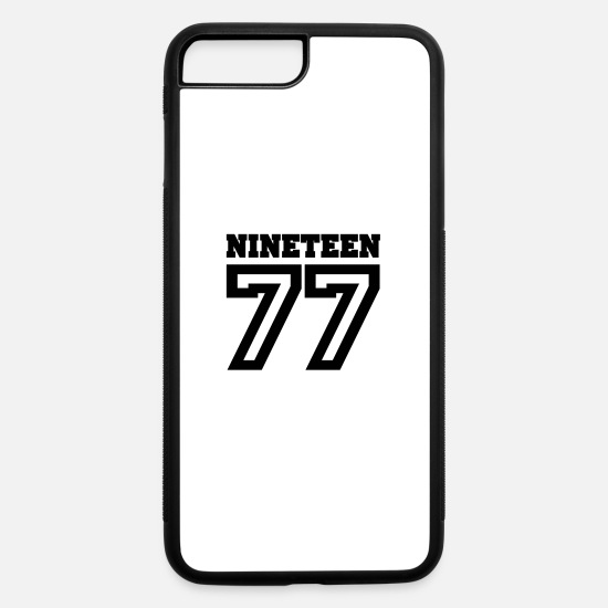 Original iPhone Cases - 1977 - iPhone 7 & 8 Plus Case white/black