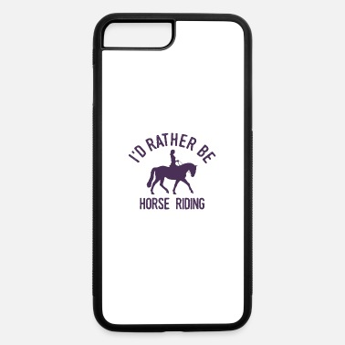 Riding Instructor Horsewoman Equestrienne Horse Riding Cool Funny - iPhone 7 & 8 Plus Case