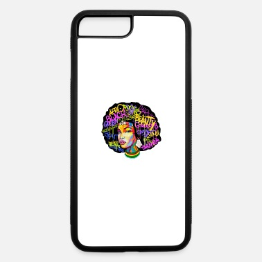 Africa AFRICA WOMAN AFRO Hoodie - iPhone 7 & 8 Plus Case