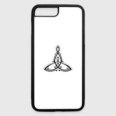 Celtic symbol, mother with two children. - iPhone 7 Plus/8 Plus Rubber Case