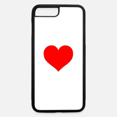Cuore 2000px Love Heart SVG svg - iPhone 7 & 8 Plus Case