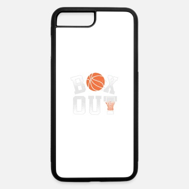 Out Box Out basketball for basket players and coach - iPhone 7 & 8 Plus Case