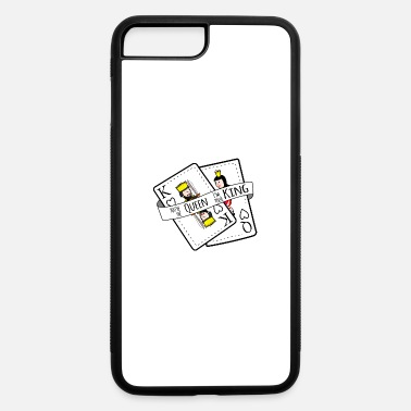 King You're the Queen I'm your King | Card Design - iPhone 7 & 8 Plus Case