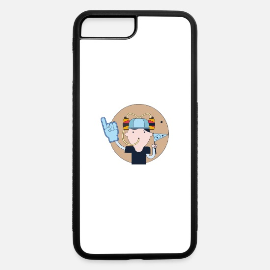 Hatch iPhone Cases - Beer Hat Fan - iPhone 7 & 8 Plus Case white/black