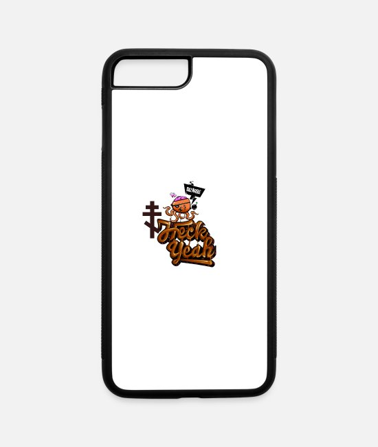 Friends iPhone Cases - Bizarre Hack Year Brawn - iPhone 7 & 8 Plus Case white/black
