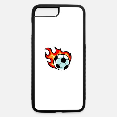 Flaming Soccer Ball - iPhone 7 & 8 Plus Case