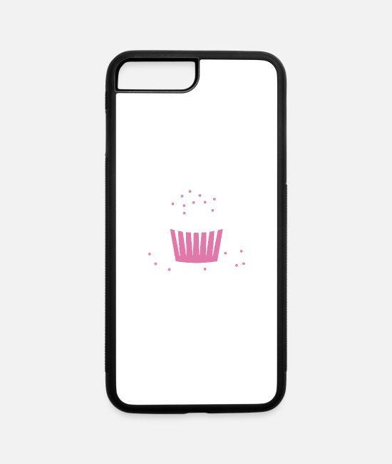 Yummy iPhone Cases - Cupcake - iPhone 7 & 8 Plus Case white/black