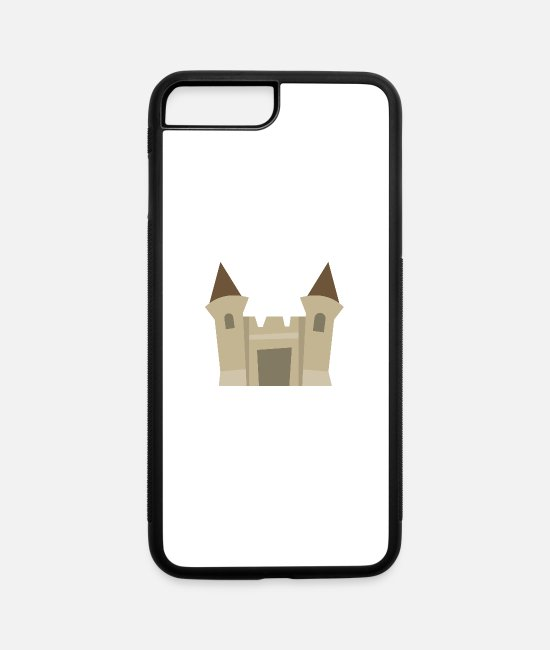 Barricade iPhone Cases - Crooked castle - iPhone 7 & 8 Plus Case white/black